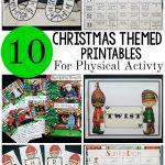 Printable Christmas Activities – That Promote Movement