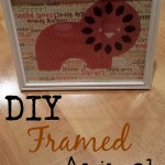 Framed Animal Decor for Nursery