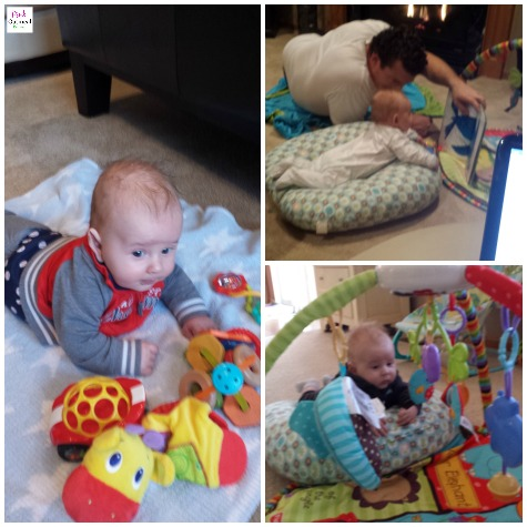 Tips For Tummy Time - What worked for a mom and physical therapist. Try these tummy time tips and ideas with your baby girl or baby boy!