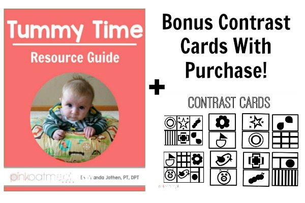 Tummy Time With Contrast Cards Image