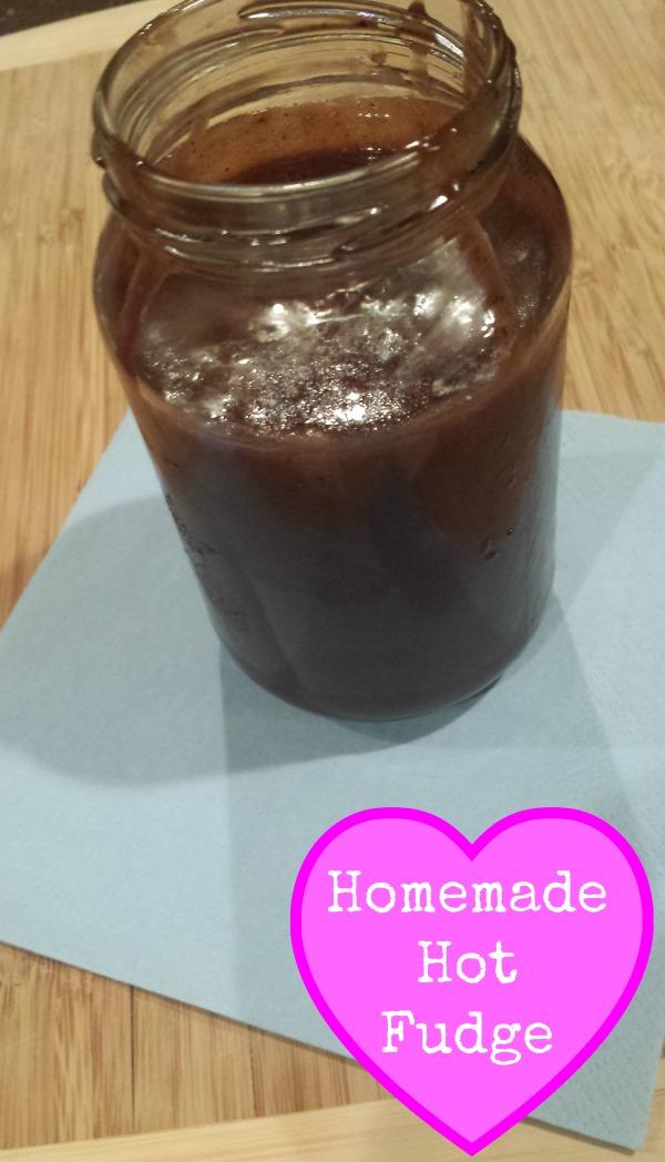 homemade hot fudge - Pink Oatmeal