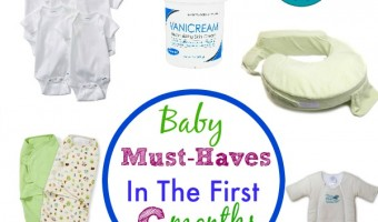 Top Ten  Baby Items For The First Six Months
