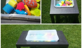 DIY Sensory Table – From an IKEA Table