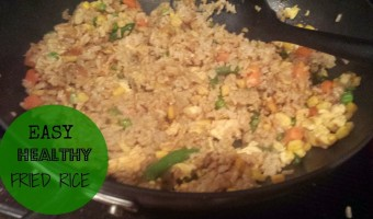 Fried Rice – Easy and Healthy