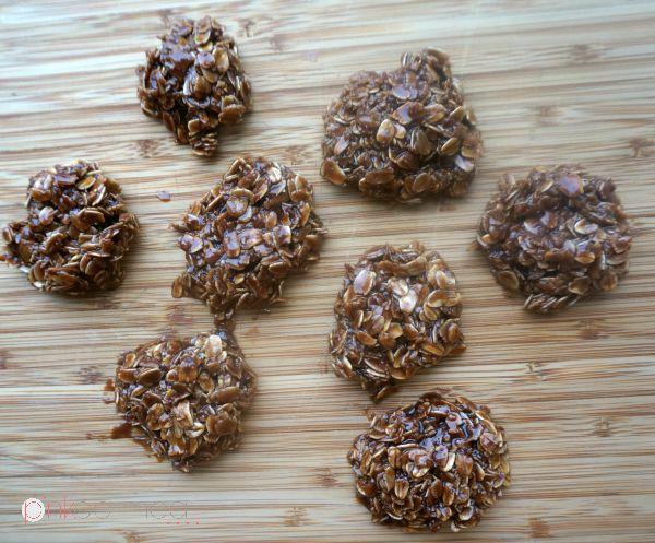 No Bake Cookies - Pink Oatmeal