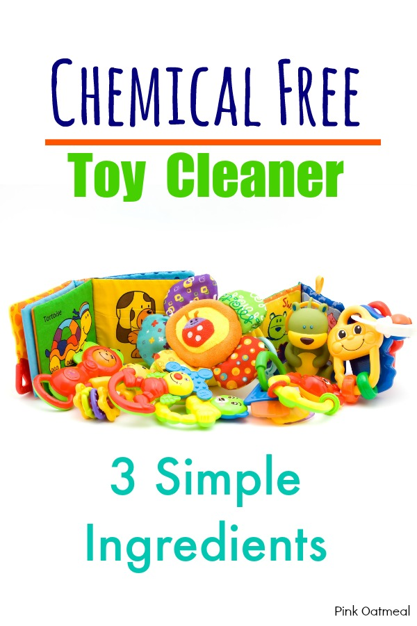 Chemical Free Toy Cleaner - Pink Oatmeal