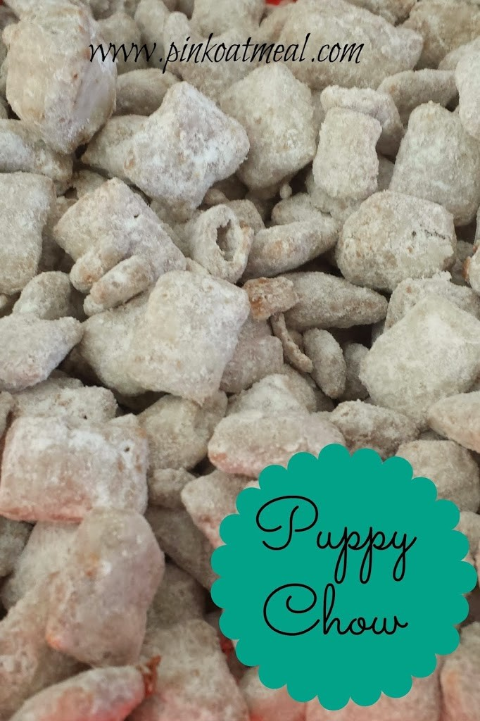 Puppy Chow - Pink Oatmeal