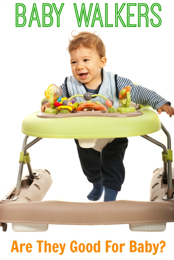 Are Baby Walkers good for a baby? A pediatric physical therapist gives some information on baby walkers and if they are useful or not. Good information for any parent with a baby!