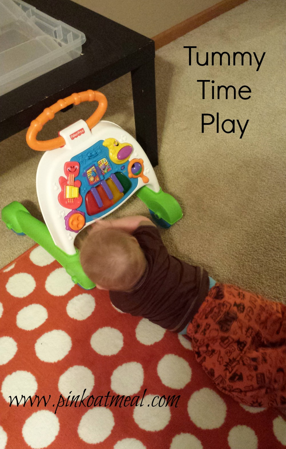 Floor Play Is Absolutely Essential To Infant Toddler: Benefits Of The Push Toy Before Walking