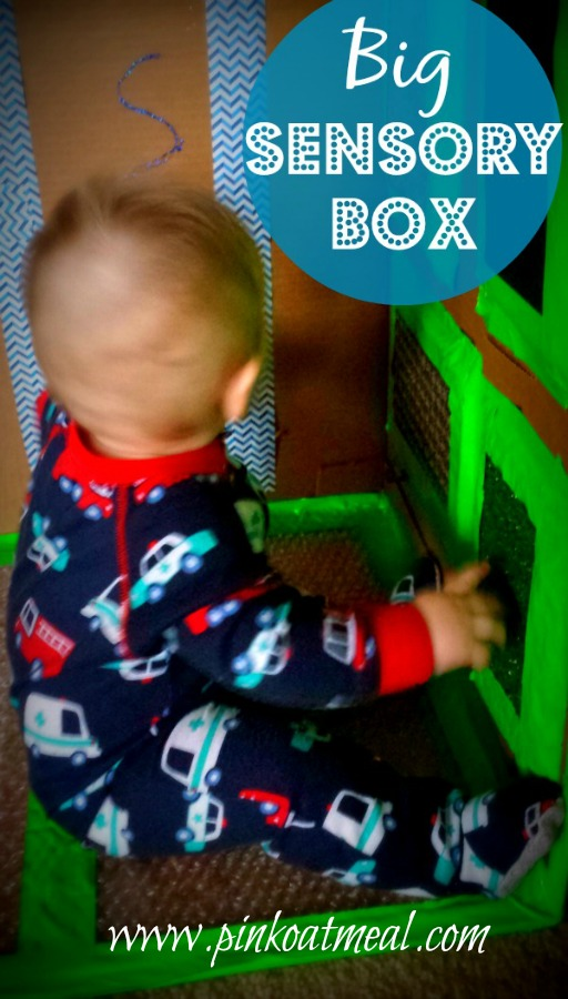 Big Sensory Box For Babies and Toddlers