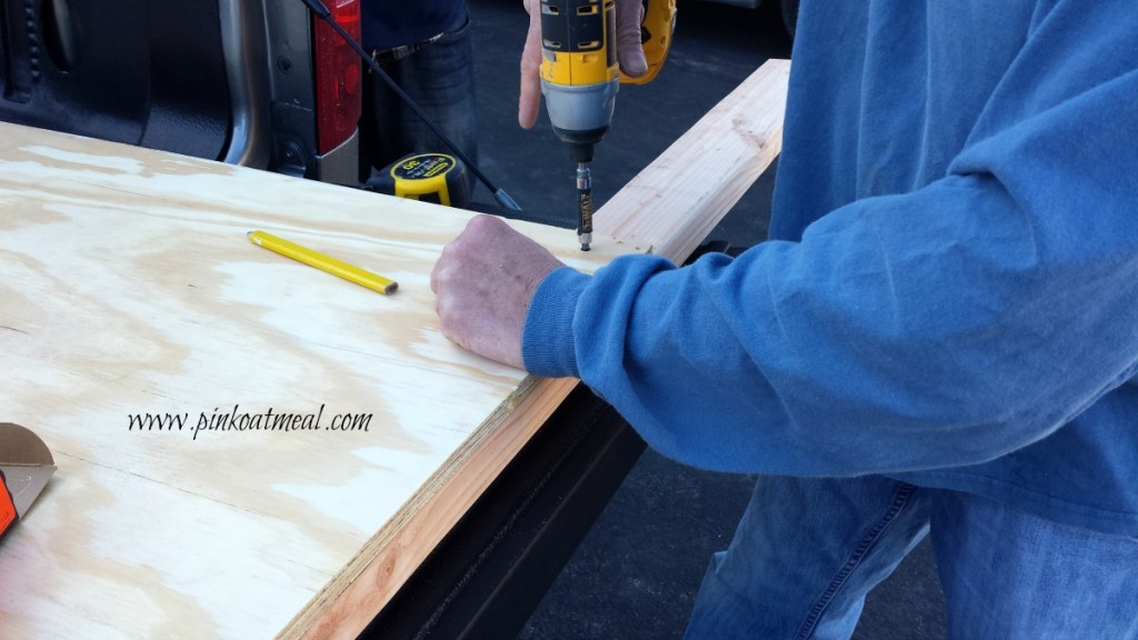 DIY headboard boards