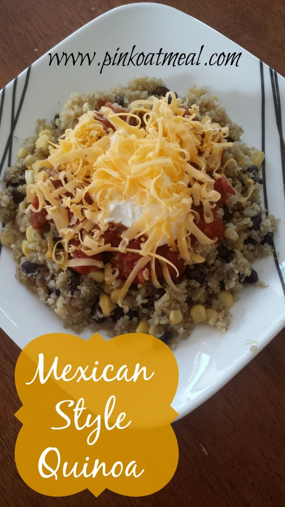 mexican style quinoa