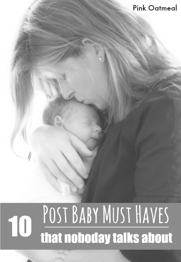 Post Baby Must Haves - Pink Oatmeal