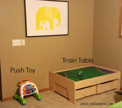 Play Space To Promote Motor Play