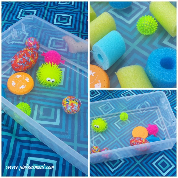 Dollar Aisle Sensory Play