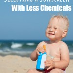 Selecting A Sunscreen With Less Chemicals - Pink Oatmeal