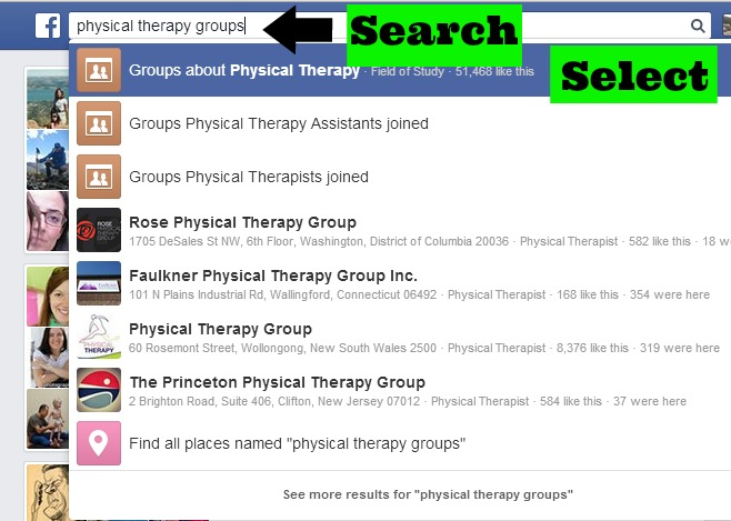 Facebook For Professional Practice