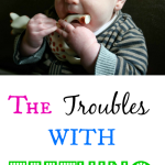 The Troubles With Teething - Pink Oatmeal