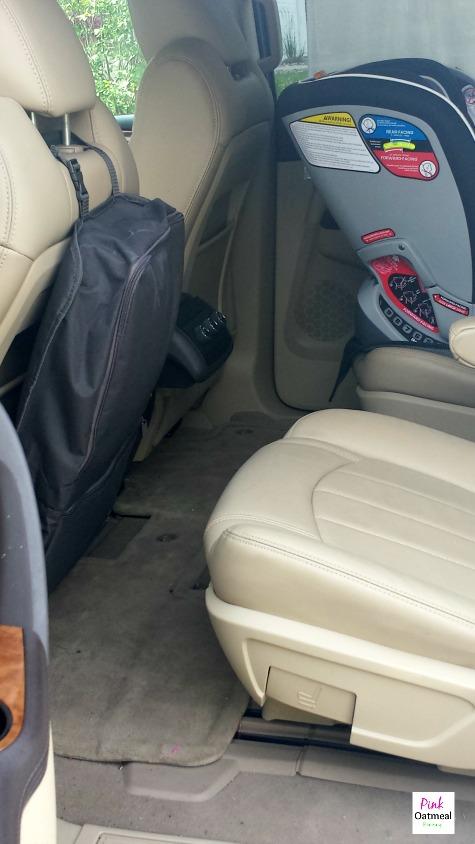 Brica iHide Car Seat Organizer - Pink Oatmeal