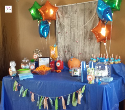 Fishing Themed Party by Pink Oatmeal