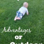 The Backyard - Advantages of Outdoor Play - PInk Oatmeal
