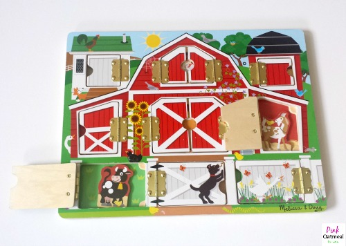 Farm Theme Motor and Sensory Play