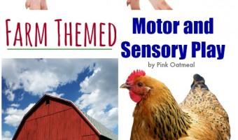 Farm Themed Sensory and Motor Play