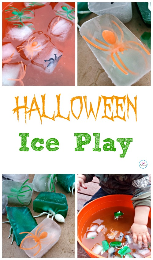 Halloween Ice Play