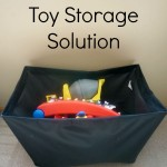 Budget Friendly Toy Storage Solution - Pink Oatmeal