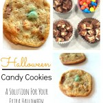 Halloween Candy Cookie - Pink Oatmeal