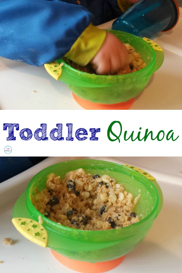 Toddler Quinoa. An awesome food for toddlers! Healthy and full of goodness!
