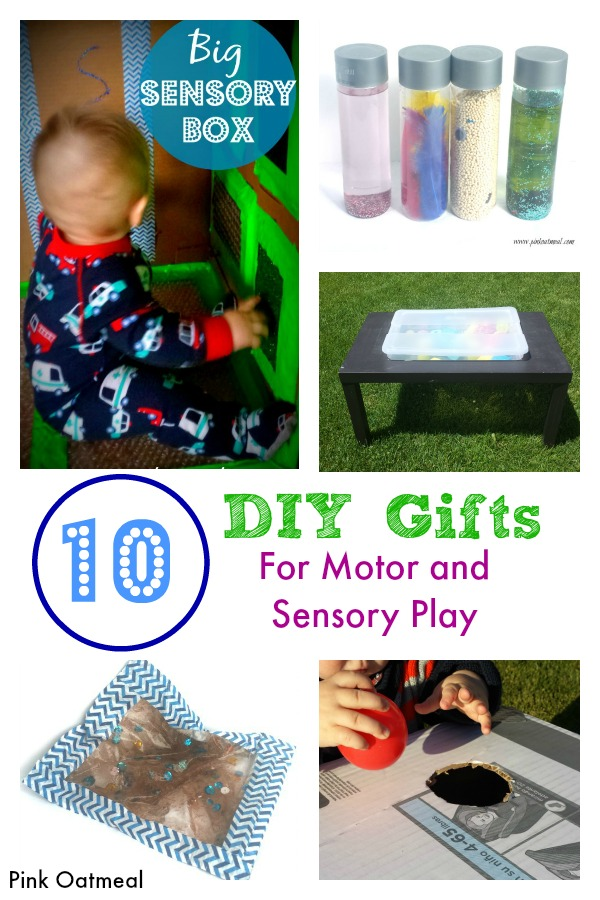 IY Gifts For Motor and Sensory Play - Pink Oatmeal
