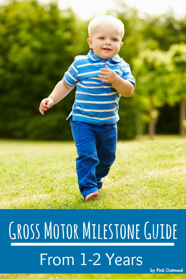 Gross motor milestones at one year old pink oatmeal for Gross motor activities for 1 year olds