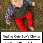 Cute Boys Clothes Without Breaking The Bank - Pink Oatmeal