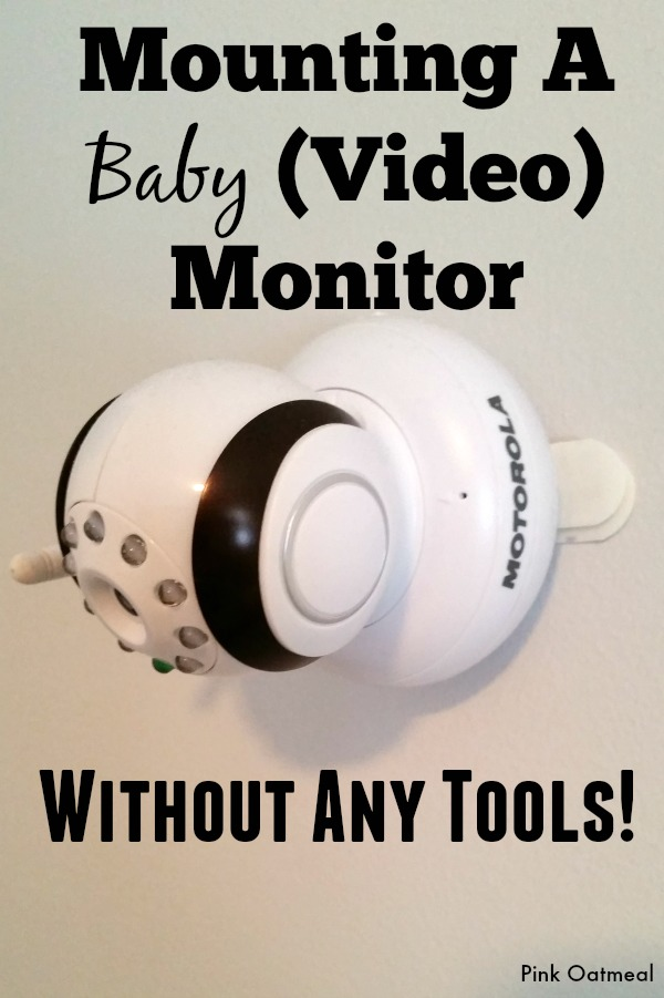 Mounting A Baby Monitor - Pink Oatmeal