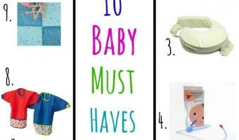 10 Baby Must Haves