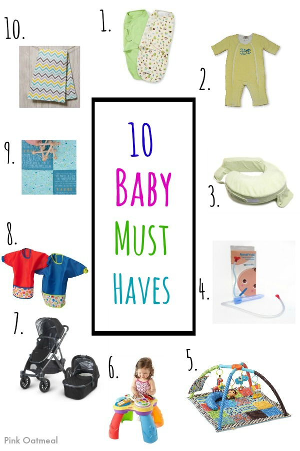 10 Baby Must Haves - Pink Oatmeal