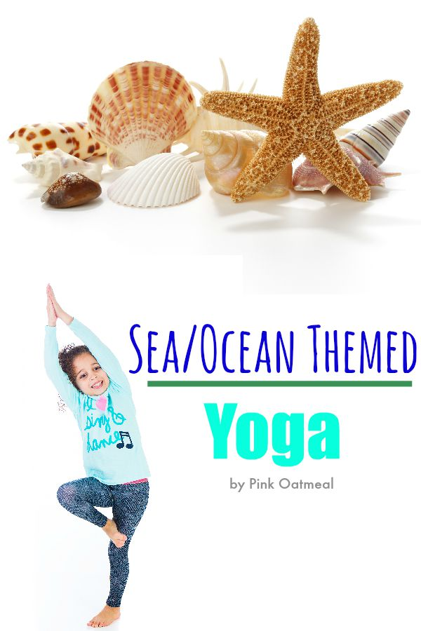 Ocean and Sea Themed Yoga - Pink Oatmeal