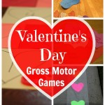 Valentine's Day Gross Motor Games - Pink Oatmeal