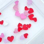 Valentine's Day Water Play - Pink Oatmeal