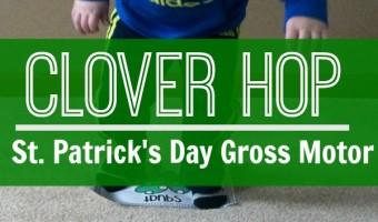 St. Patrick's Day Gross Motor – Clover Hop