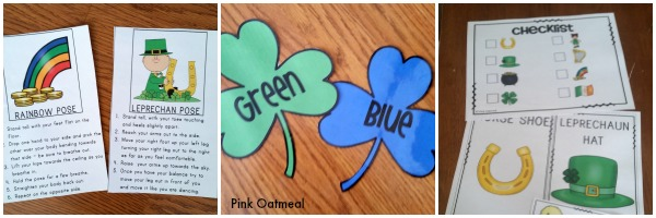 St. Patrick's Day Games - Pink Oatmeal