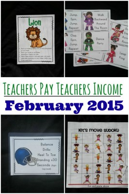 Teachers Pay Teachers -February 2015