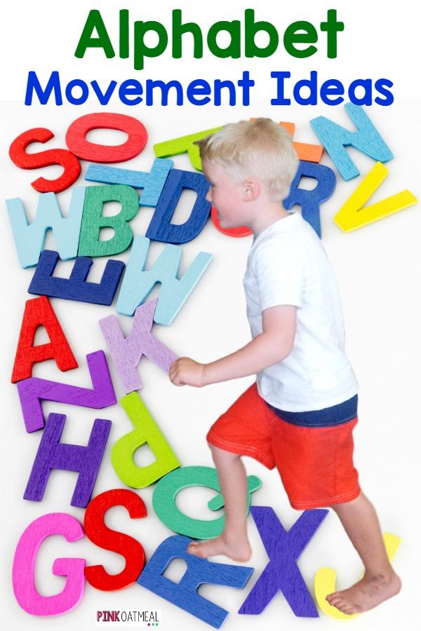 Alphabet Movement Ideas