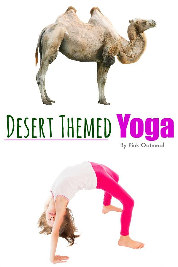 Desert Yoga - Pink Oatmeal