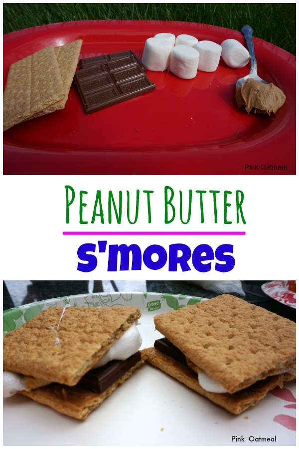 Peanut Butter Smores - Pink Oatmeal