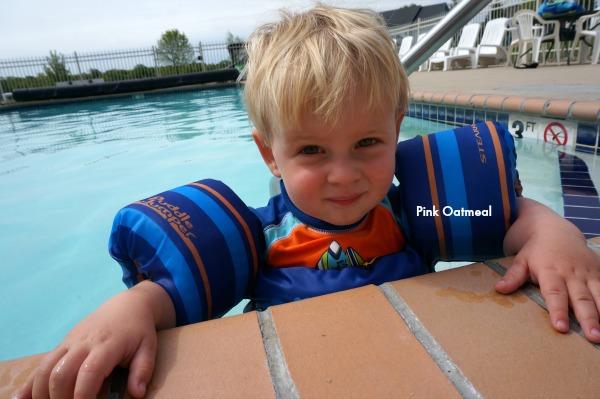 Pool Benefits - Pink Oatmeal