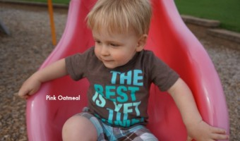 Why I Let My Kid Climb Up The Slide
