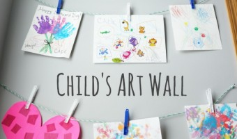 Child's Art Wall