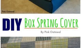 DIY Box Spring Cover